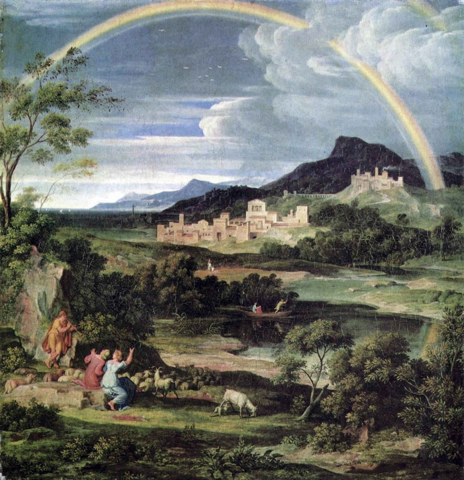Joseph anton koch vita brevis ars longa for Moderne landschaftsbilder